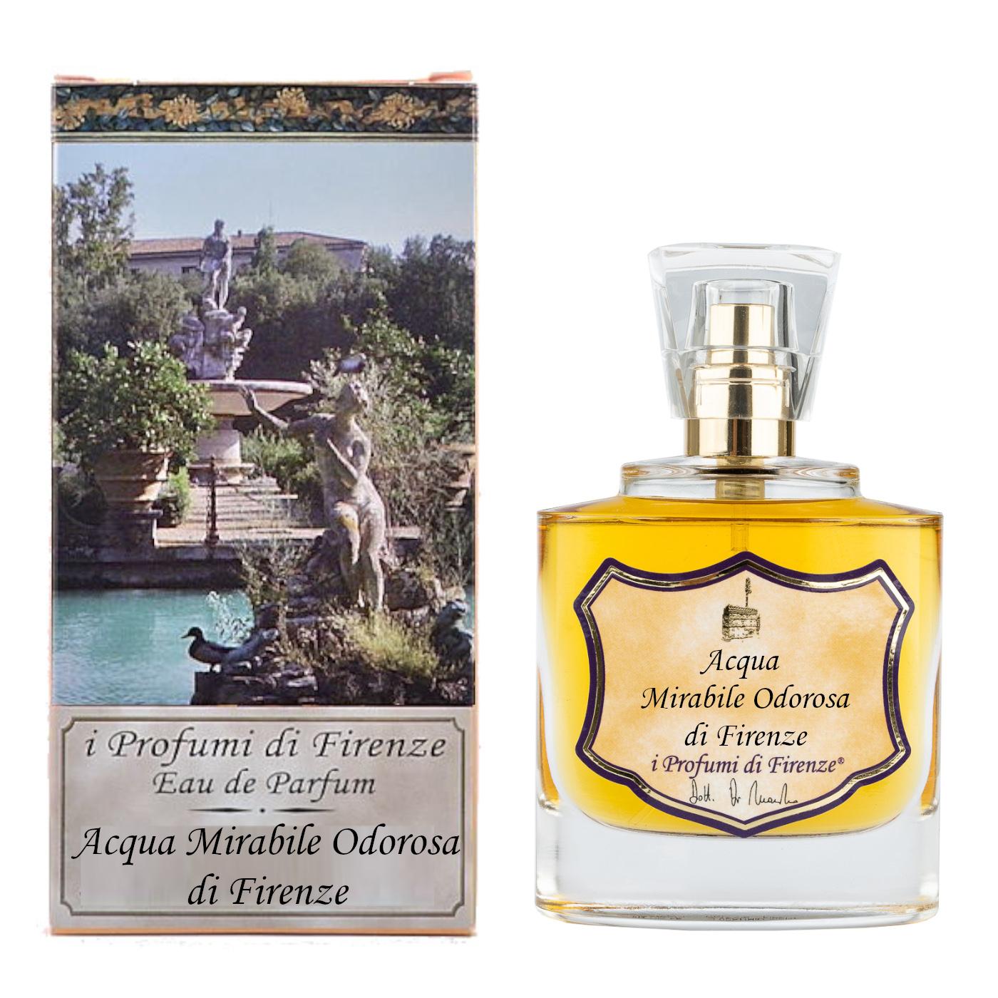 ACQUA MIRABILE ODOROSA DI FIRENZE ®- Eau de Parfum 50ml-0