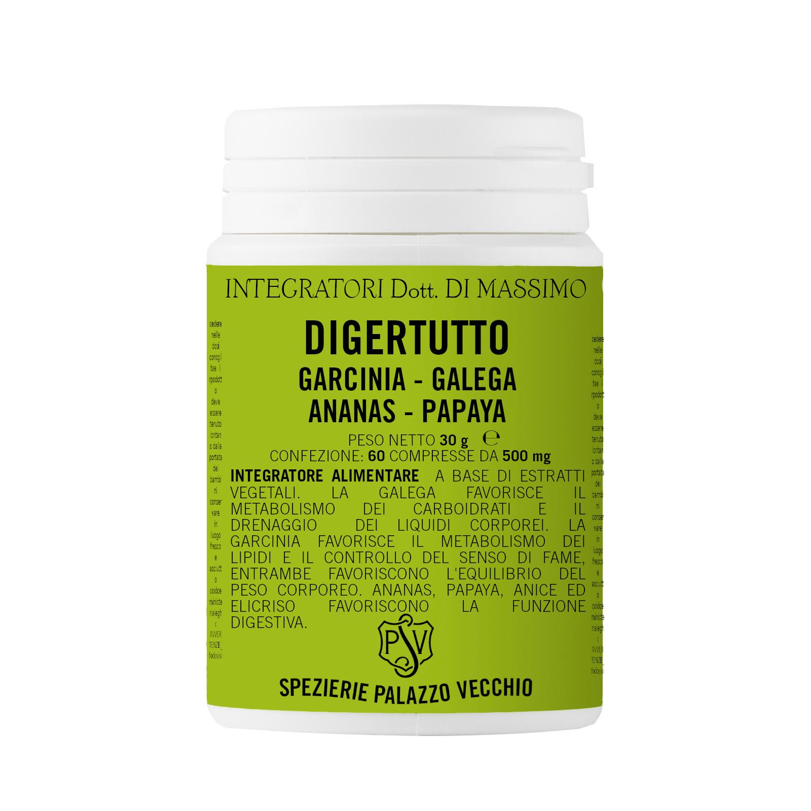 DIGERTUTTO Garcinia - Galega- Ananas - Papaya-0