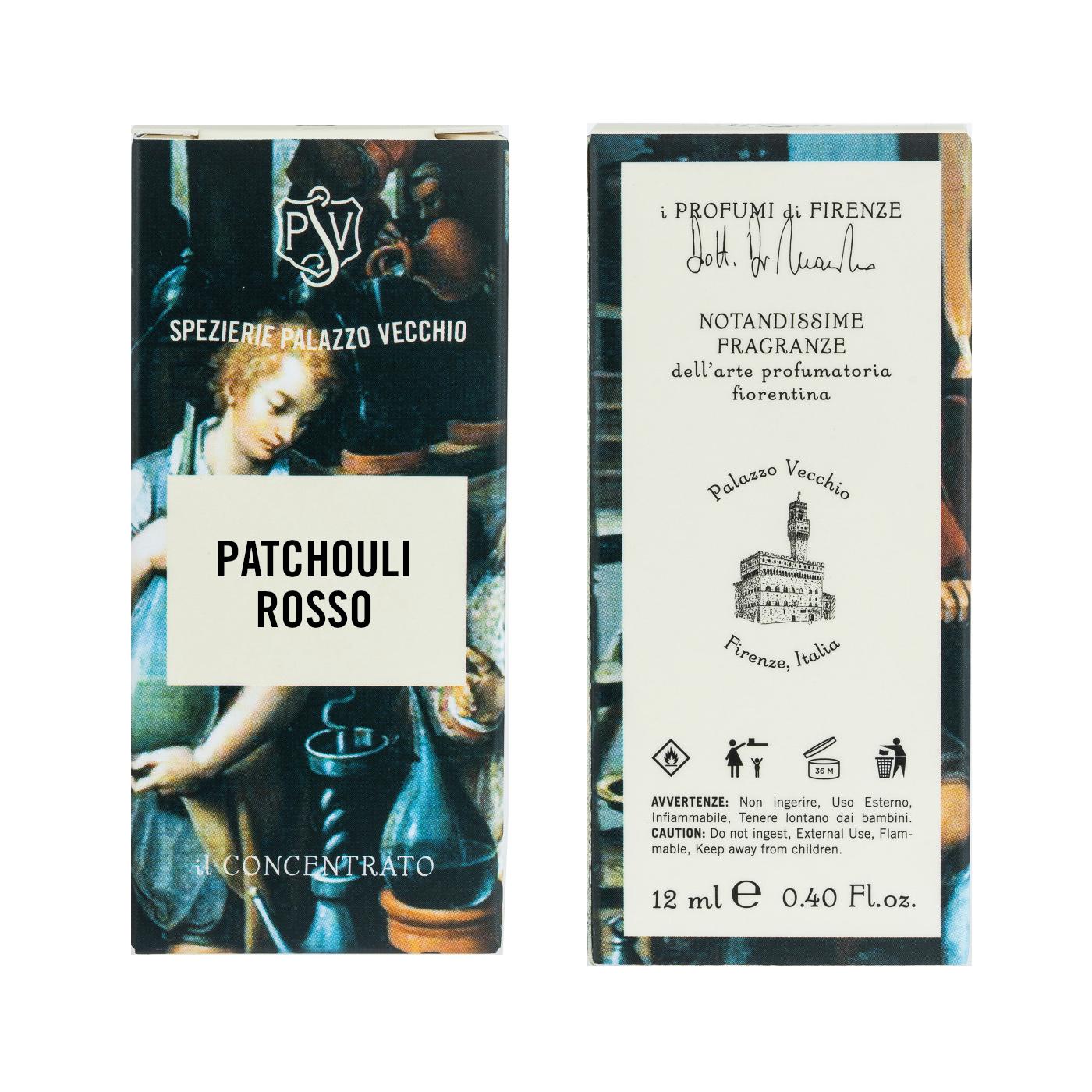 PATCHOULI ROSSO - Il Concentrato -3809